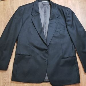 Grey Yves saint Laurent men's blaser jacket xxl 44